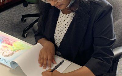 The evolution of Priscila Kumar's book into a school curriculum